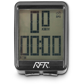 Cube RFR CMPT Bike Computer wireless, black/white logo